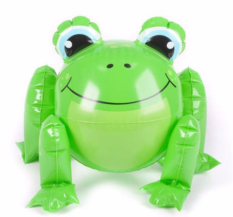 "12"" FROG BEACH BALL - 1 PIECE"