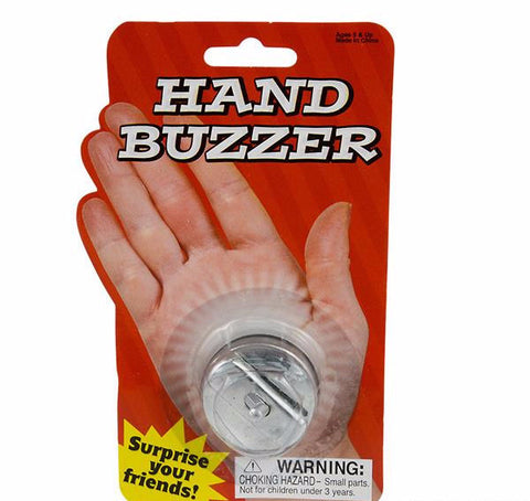 "1.5"" WIND-UP METAL HAND BUZZER - 12 COUNT"