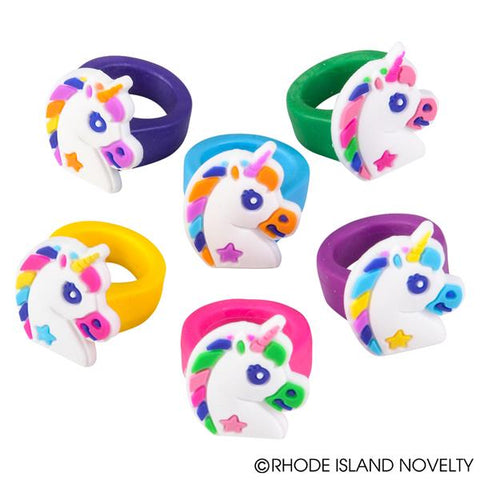 "1"" UNICORN RUBBER RINGS / 36 pack"