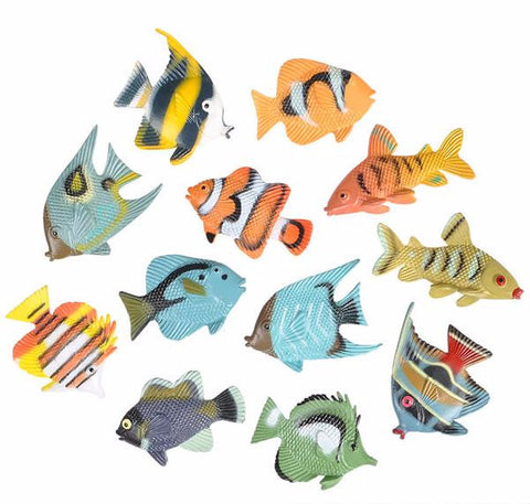 "1.5"" TROPICAL FISH - 12 COUNT"