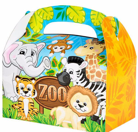 ZOO ANIMAL TREAT BOXES - 12 COUNT
