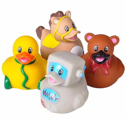 CLASSIC TOY RUBBER DUCKIES - 12 PIECES