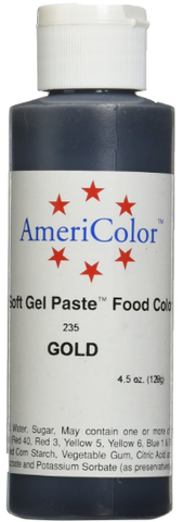 13.5 Oz Americolor Gel - Gold