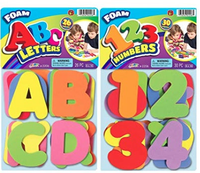 ABC Foam Letters And Numbers