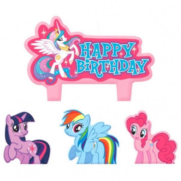 My Little Pony Birthday Candle Set