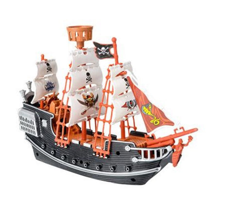 "10"" PIRATE BOAT - 1 PIECE"