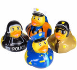 "2"" Law Enforcement Rubber Ducks - 12 count"