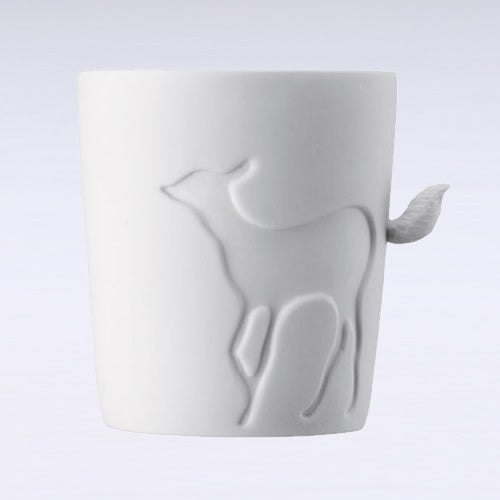 Mugtail Fawn Mug & Tea Light Holder