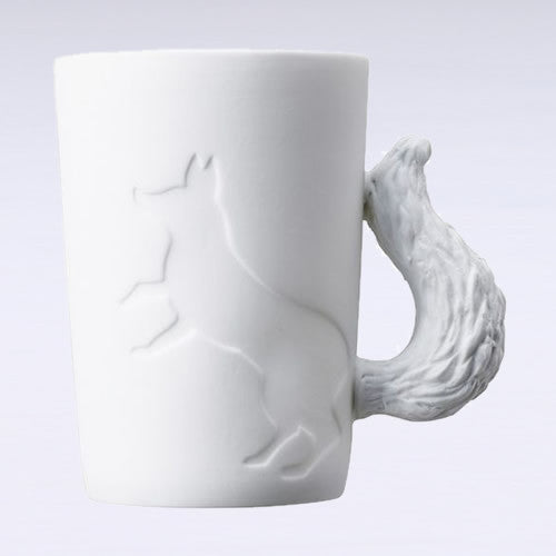 Mugtail Fox Mug &  Tea Light Holder