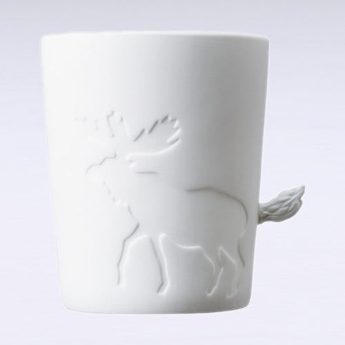 Mugtail Moose Mug & Tea Light Holder