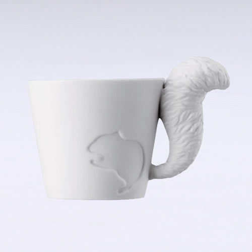 Mugtail Squirrel Mug & Tea Light Holder