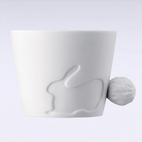 Mugtail Rabbit Mug & Tea Light Holder