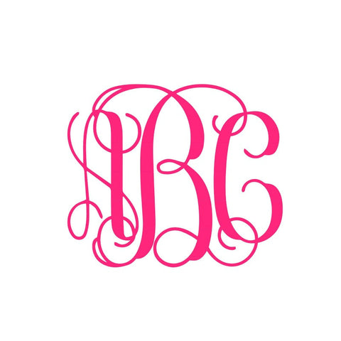 Monogram - Vine/Name