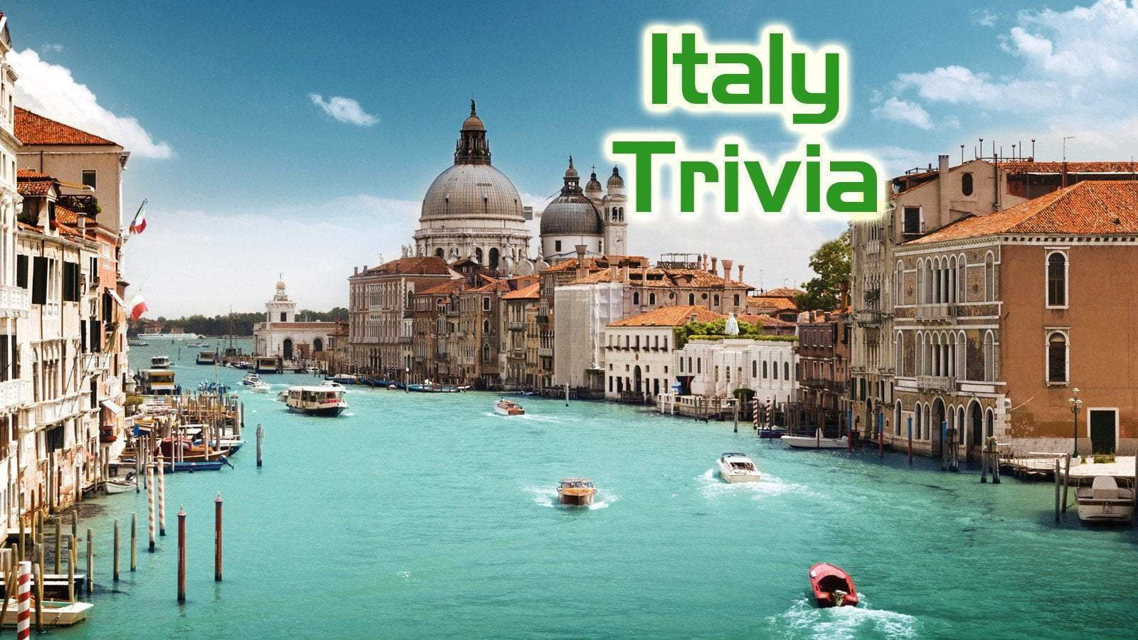 Free Trivia Night Questions - Italy
