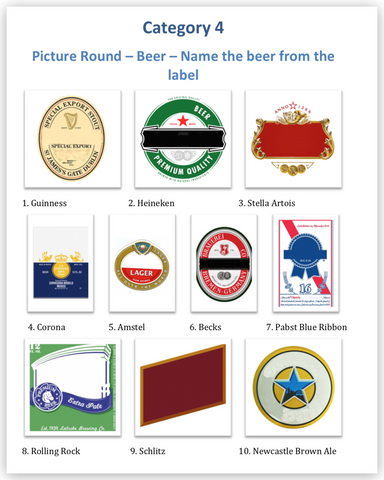 10 Great Trivia Night Picture Round Ideas | QuizRunners