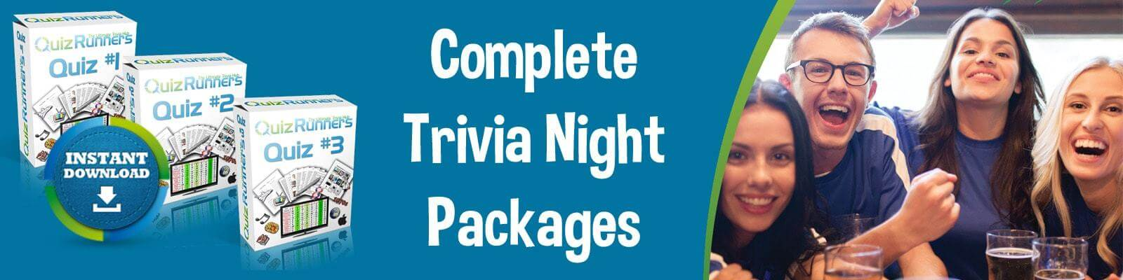 Complete Trivia Night Question and Answer Kits