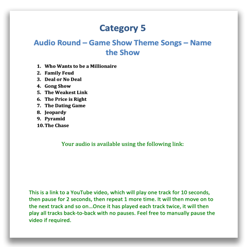 10 Amazing Audio Round Ideas for your Quiz Night | QuizRunners