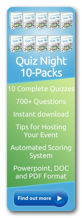 Trivia Night 10-Pack Kits