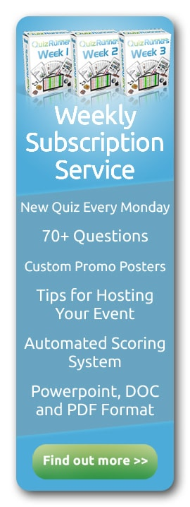 Complete Trivia Night Questions and Answers Kit | Quizrunners