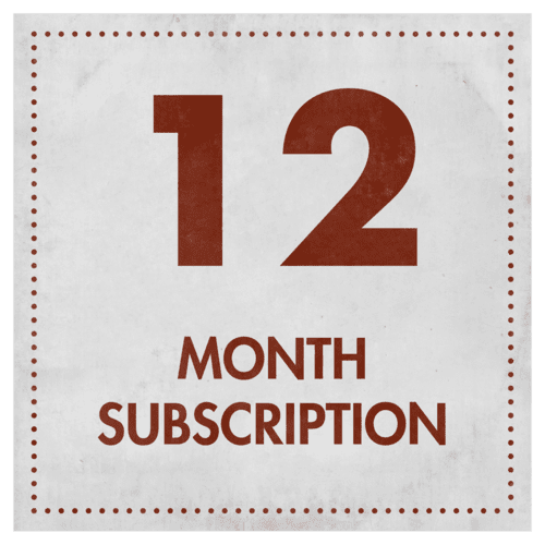 12 month Partial Quizrunners Subscription - Pre-Paid