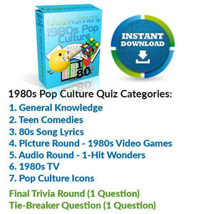The 1980s Pop Culture Quiz