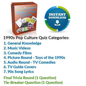The 1990s Pop Culture Quiz
