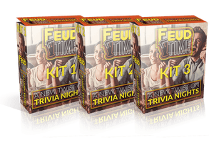 Feud Time 3-Pack #1 Includes Kit 1-2-3