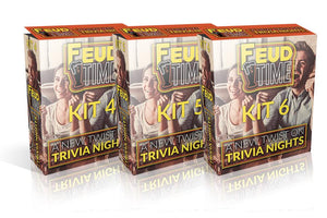 Feud Time 3-Pack #2 Includes Kit 4-5-6