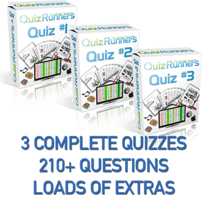 3 Complete Trivia Night Quizzes - Quiz 1, 2 and 3