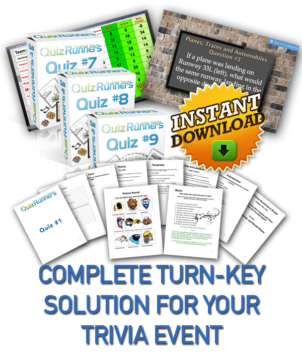 Complete Trivia Night Kit 3-Pack 3