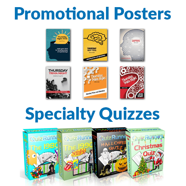 BONUS Extras Including Promotional Posters and Specialty Quizzes