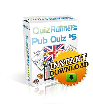 Pub Quiz Kit 5 UK Edition