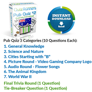 Pub Quiz Kit 3 Australia-International Edition