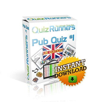 Pub Quiz Kit 1 UK Edition