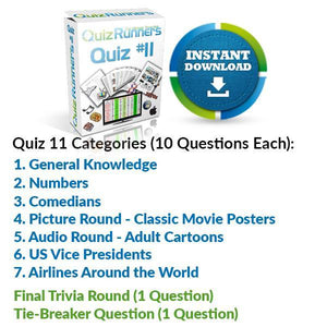 Quiz Night Kit 11