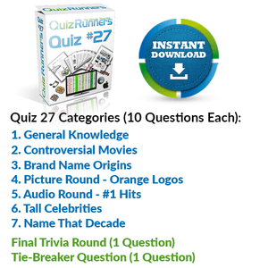 Quiz Night Kit 27