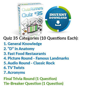 Quiz Night Kit 35