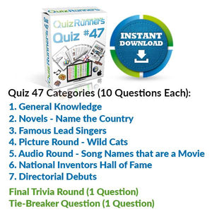 Quiz Night Kit 47