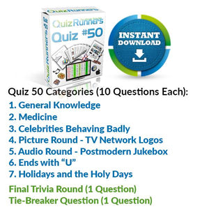 Quiz Night Kit 50