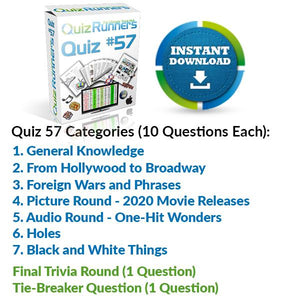 Quiz Night Kit 57