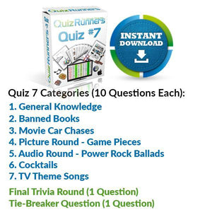 Quiz Night Kit 7