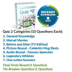 Quiz Night Kit 2