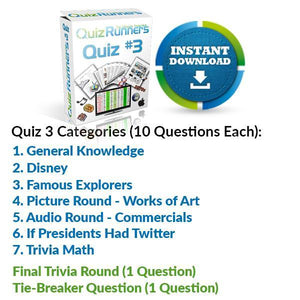 Quiz Night Kit 3