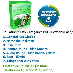 St. Patrick's Day Quiz