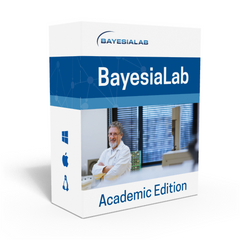 BayesiaLab Academic Edition — Single-User/Single-Machine License Rental