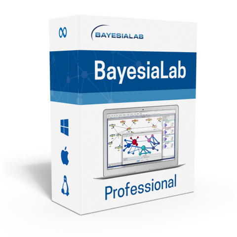BayesiaLab Professional — Perpetual Single-User/Single-Machine License Purchase