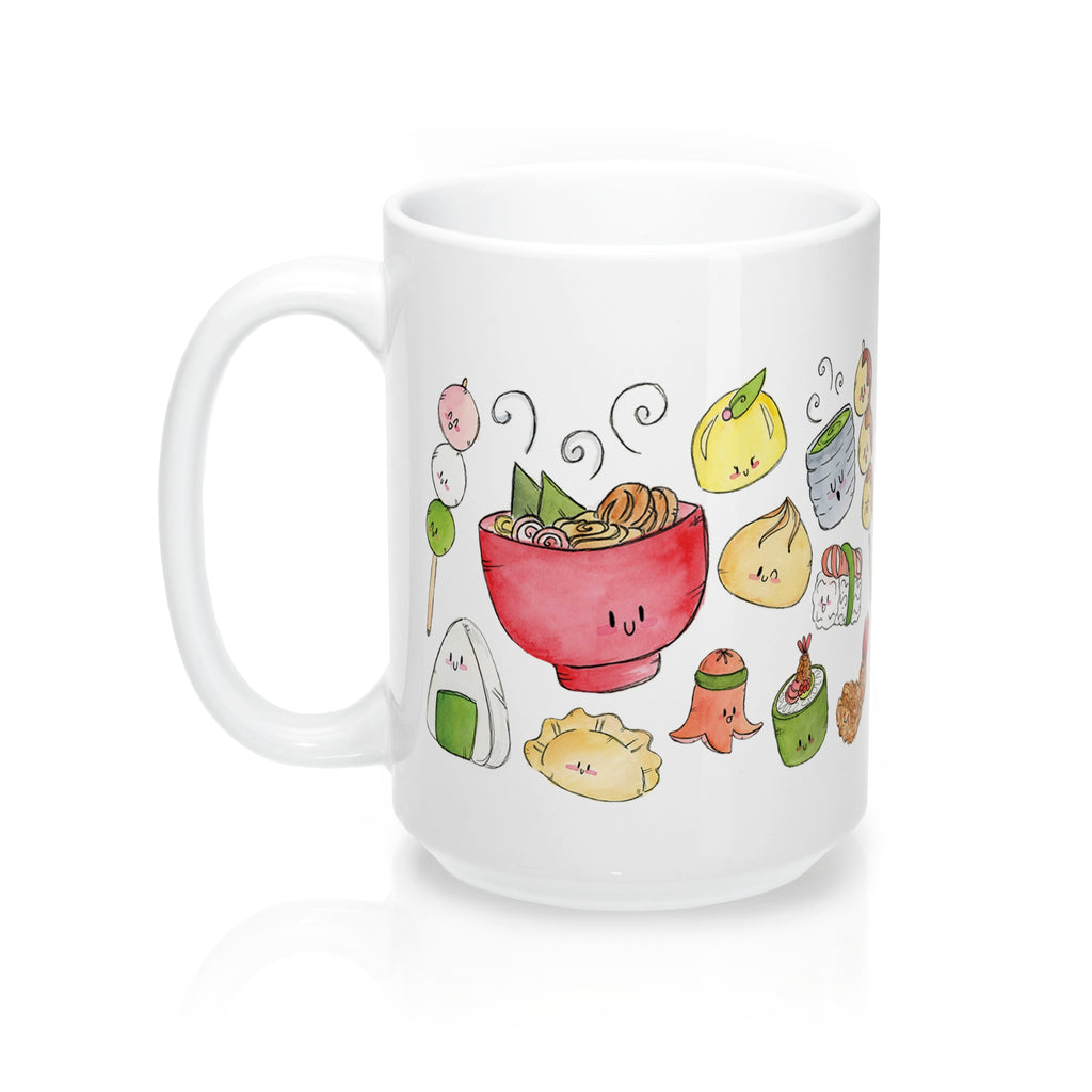 Kawaii Food Mug 15oz
