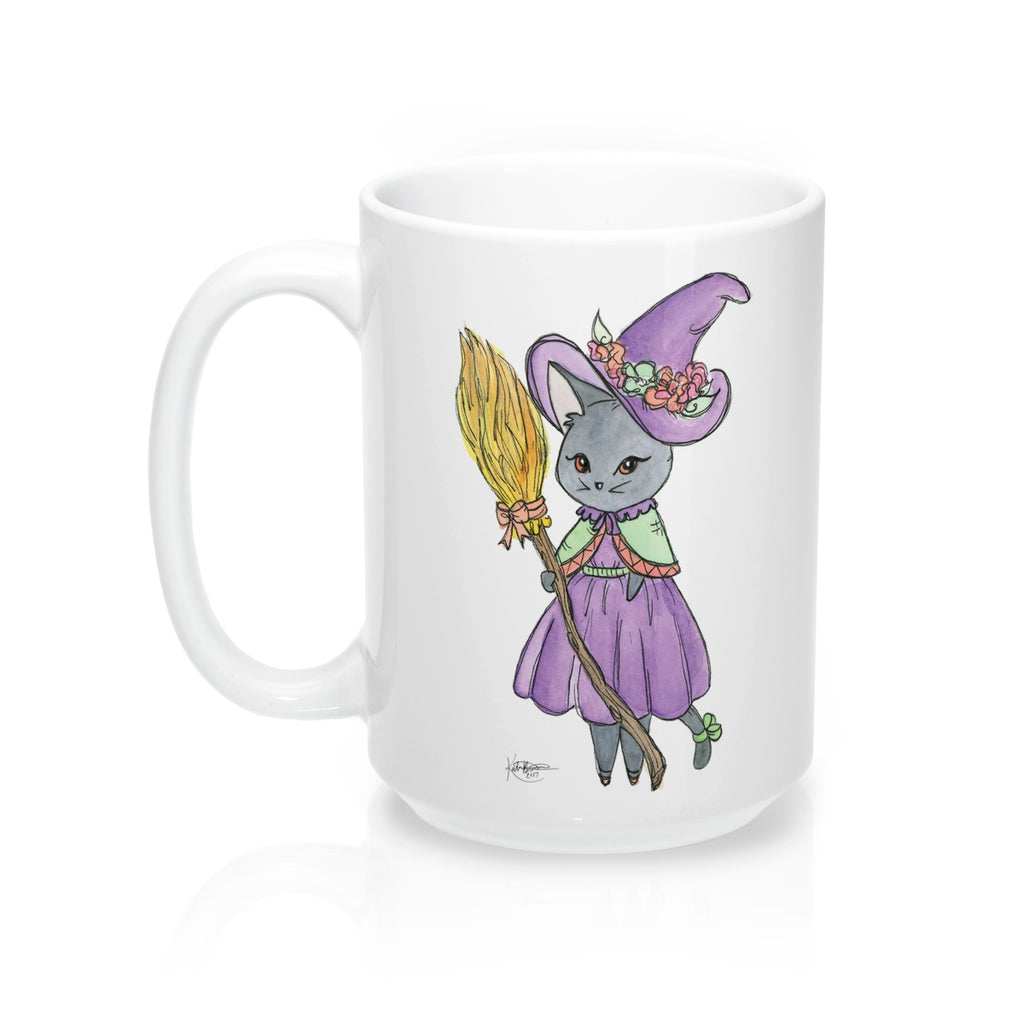 Witch Kitty Mug 15oz