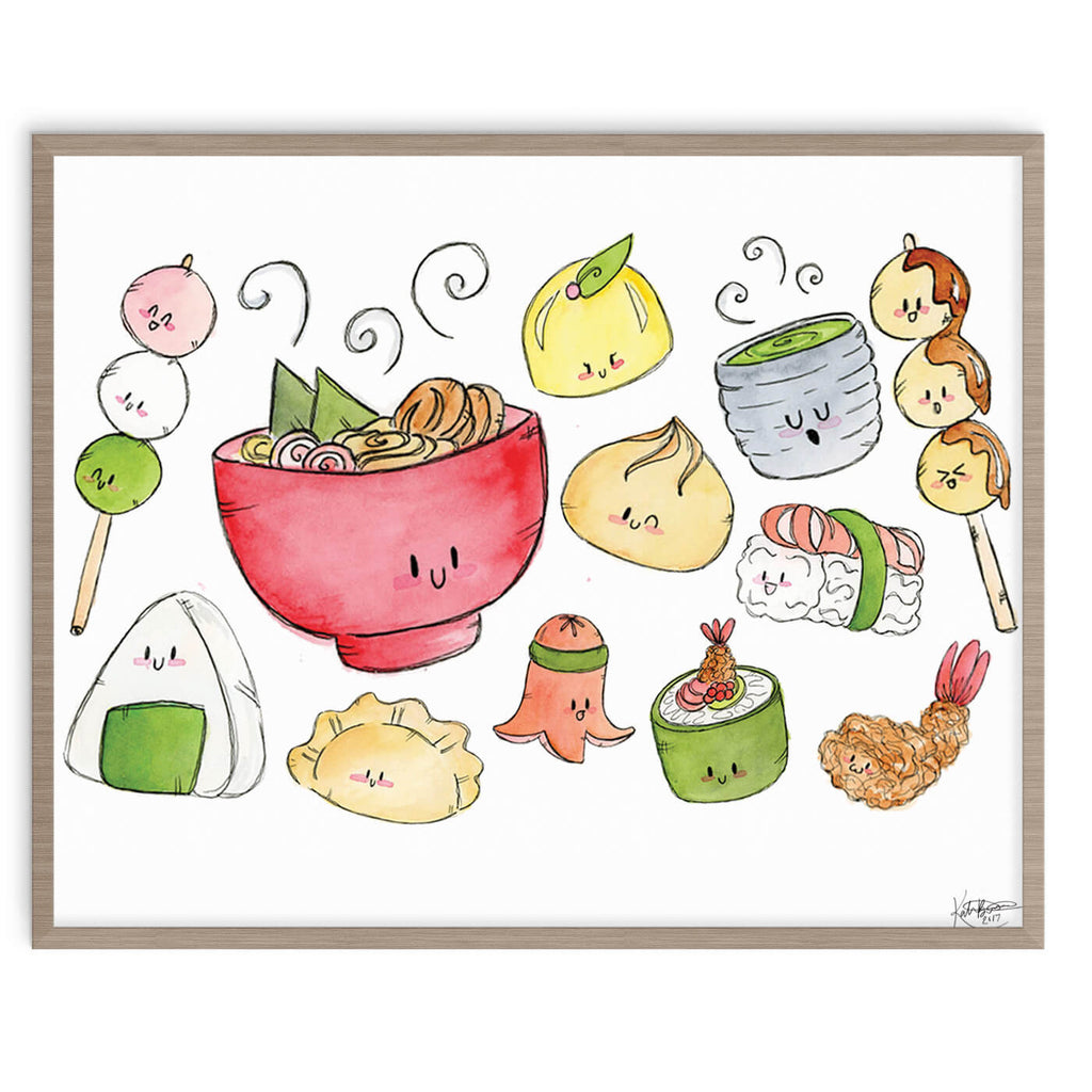 Kawaii Food 8x10 Digital Download