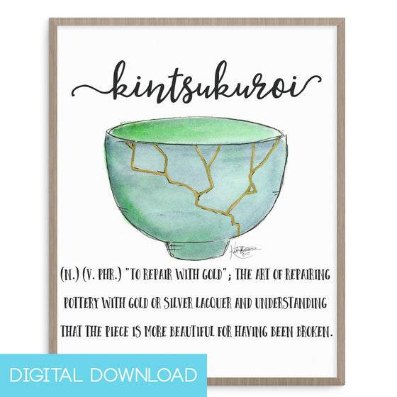 Kintsukuroi 8x10 Digital Download
